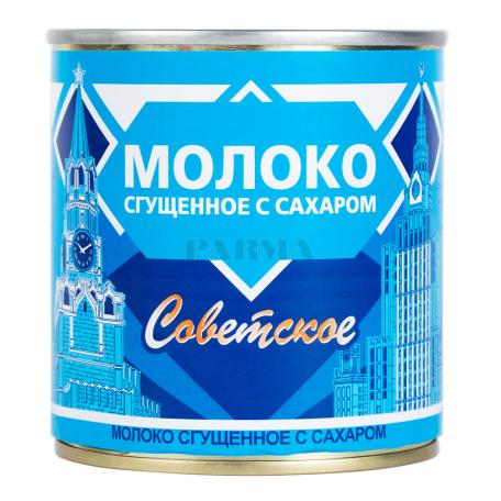 Խտացրած կաթ «Советское» շաքարով 380գ