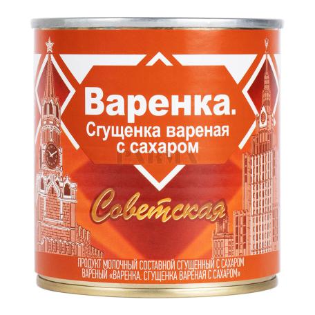 Խտացրած կաթ պարունակող մթերք «Советская» եփած, շաքարով 370գ