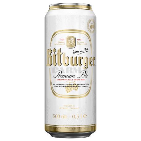 Գարեջուր «Bitburger» բաց 500մլ