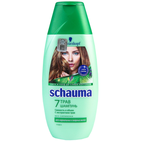 Շամպուն «Schauma» 7 խոտաբույսեր 225մլ
