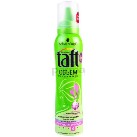 Մազի մուս «Taft N4» ծավալի ուժ 150մլ