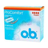 Տամպոններ «o.b. Pro Comfort Silk Touch Super»