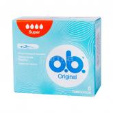 Տամպոններ «o.b. Original Super» 8 հատ