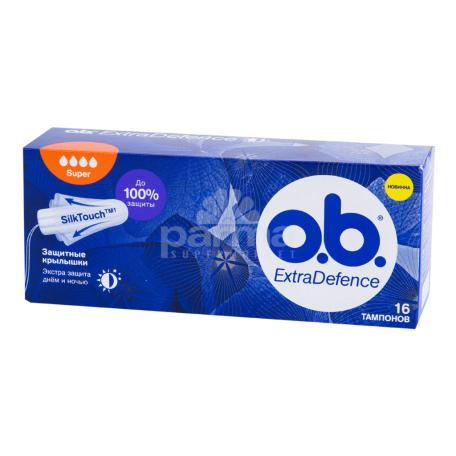 Տամպոններ «o.b. Extra Defence Super»