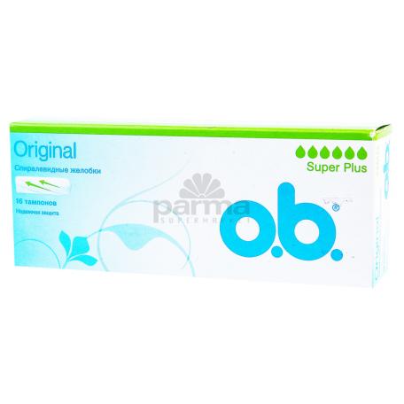 Տամպոններ «o.b. Super Plus»