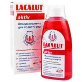 Ողողման հեղուկ «Lacalut Aktiv» 300մլ
