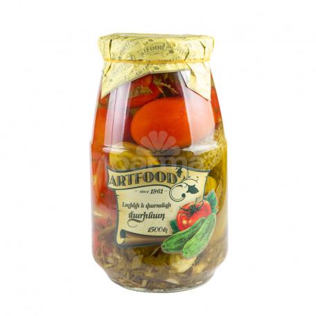 Մարինացված բանջարեղեն «Ռոյալ» ասորտի 1․5կգ