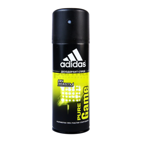 Հակաքրտինքային միջոց «Adidas Pure Game» 150մլ