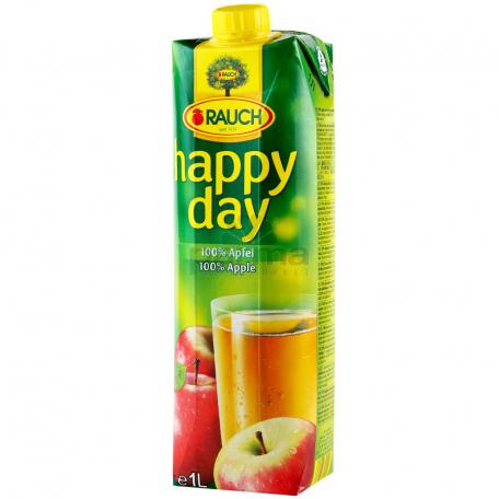 Հյութ բնական «Happy Day» խնձոր 1լ