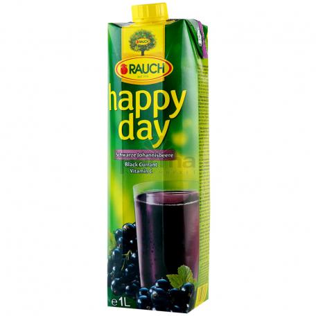 Հյութ բնական «Happy Day» սև հաղարջ 1լ