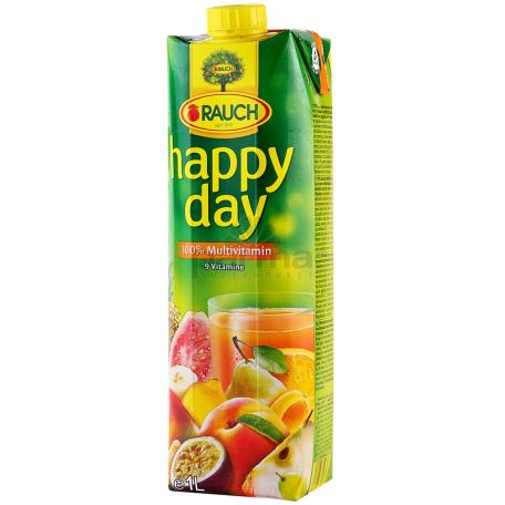 Հյութ բնական «Happy Day» մուլտիվիտամին 1լ