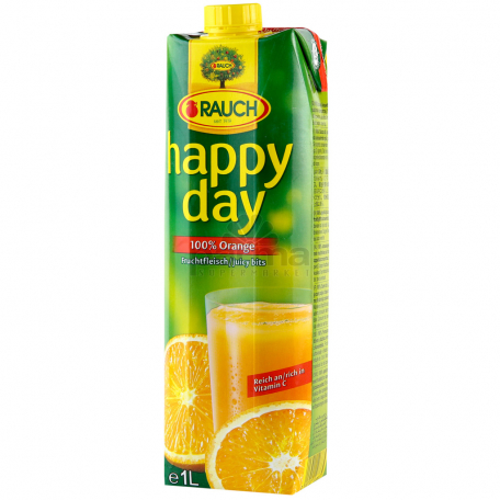 Հյութ բնական «Happy Day» նարինջ պտղամսով 1լ