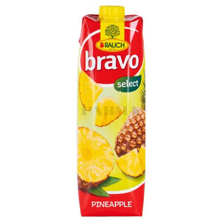 Հյութ բնական «Bravo» արքայախնձոր 1լ