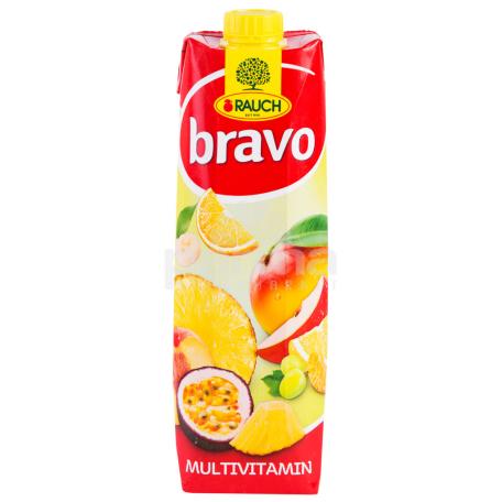 Հյութ բնական «Bravo» մուլտիվիտամին 1լ