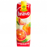 Հյութ բնական «Bravo» կարմիր նարինջ 1լ