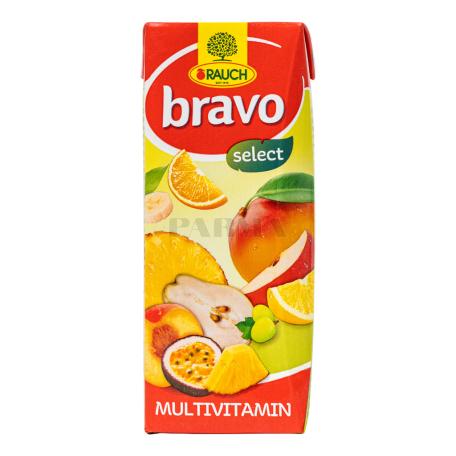 Հյութ բնական «Bravo» մուլտիվիտամին 200մլ