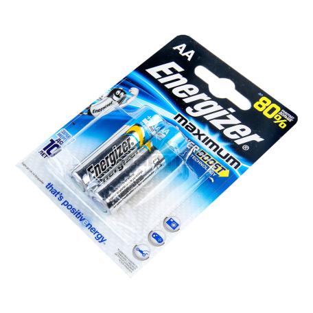 Մարտկոց «Energizer» maximum AA 2 հատ