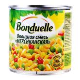 Բանջարեղենային խառնուրդ «Bonduelle» մեքսիկական 340գ