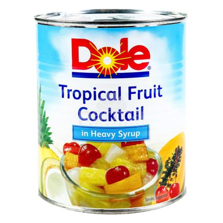 Կոմպոտ «Dole Tropical Fruit» ասորտի 836գ