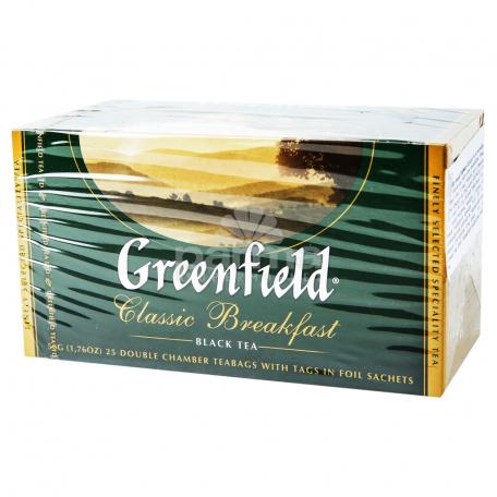 Թեյ «Greenfield» սև կլասիկ 37.5գ