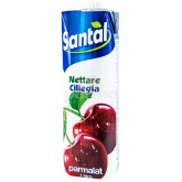 Հյութ բնական «Santal» կեռաս 1լ