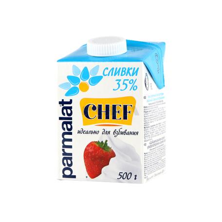 Սերուցք «Parmalat Chef» հարելու համար 35% 500մլ