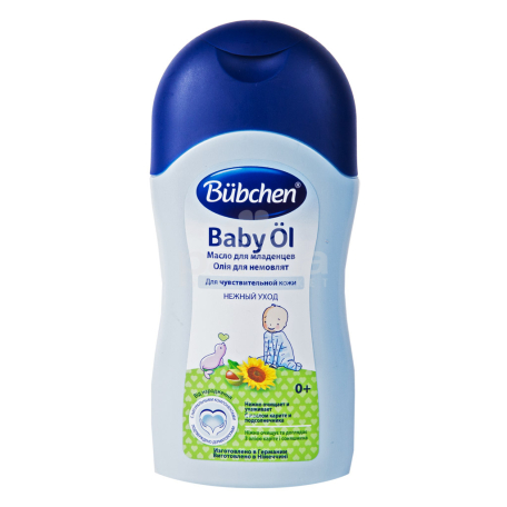 Յուղ մարմնի «Bubchen» կարիտե, արևածաղիկ 400մլ
