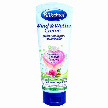 Մանկական կրեմ «Bubchen Wind and Weather» 75մլ