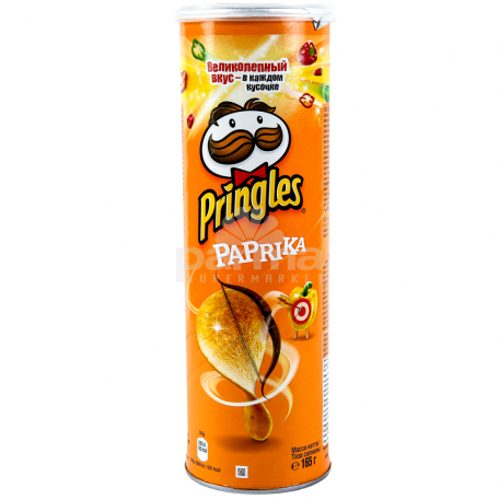 Չիպս «Pringles» պղպեղ 165գ