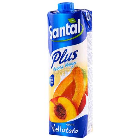 Հյութ բնական «Santal» դեղձ, մանգո 1լ