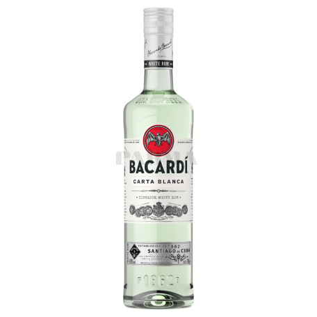 Ռոմ «Bacardi Carta Blanca» 750մլ