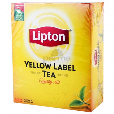 Թեյ «Lipton Yellow Label Tea» 100գ
