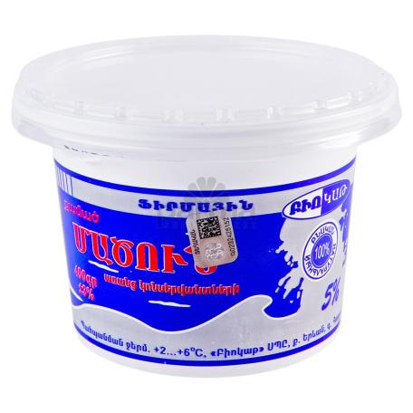 Մածուն քամած «Բիոկաթ» 5% 450գ