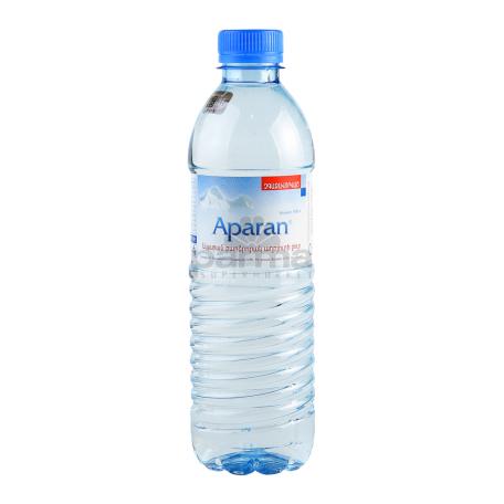 Աղբյուրի ջուր «Ապարան» 500մլ