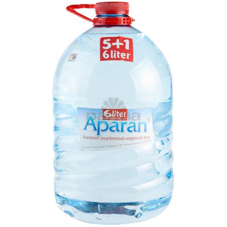 Աղբյուրի ջուր «Ապարան» 6լ