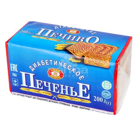 Թխվածքաբլիթ դիաբետիկ «Печиво» 200գ