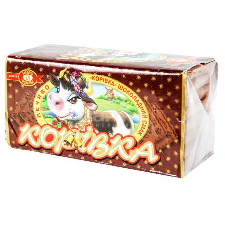 Թխվածքաբլիթ «Коровка» շոկոլադե միջուկով 200գ