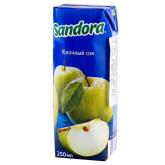 Հյութ բնական «Sandora» կանաչ խնձոր 250մլ