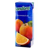 Հյութ բնական «Sandora» նարինջ 250մլ