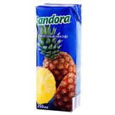 Հյութ բնական «Sandora» արքայախնձոր 250մլ