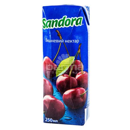 Հյութ բնական «Sandora» բալ 250մլ