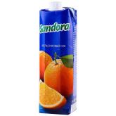 Հյութ բնական «Sandora» նարինջ 1լ