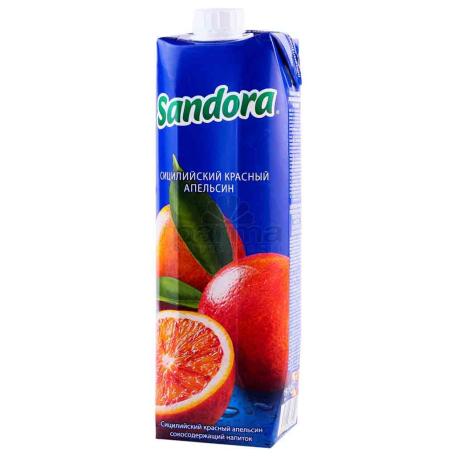 Հյութ բնական «Sandora» կարմիր նարինջ 950մլ
