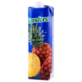 Հյութ բնական «Sandora» արքայախնձոր 1լ