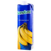 Հյութ բնական «Sandora» բանան 1լ