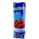 Հյութ բնական «Sandora» լոռամիրգ 950մլ