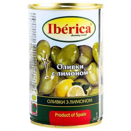 Ձիթապտուղ «Iberica» կանաչ, կիտրոնով 300գ