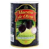 Ձիթապտուղ «Maestro de Oliva» սև, անկորիզ 425գ