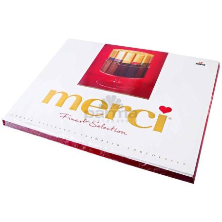 Շոկոլադե կոնֆետներ «Merci» 675գ