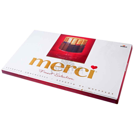 Շոկոլադե կոնֆետներ «Merci» 400գ